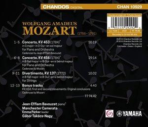 Klavierkonzerte KV 453,456,137