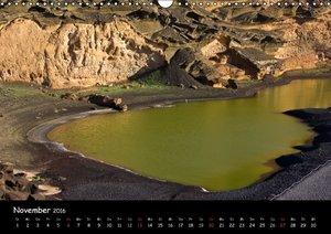 Lanzarote - Insel der Vulkane (Wandkalender 2016 DIN A3 quer)