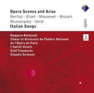 Opera Scenes And Arias/Italian Songs