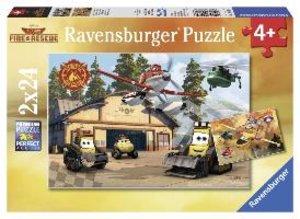 Immer im Einsatz. Puzzle 2 X 24 Teile