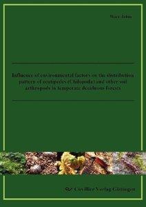 Influence of environmental factors on the distribution pattern o
