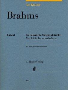 Am Klavier - Brahms