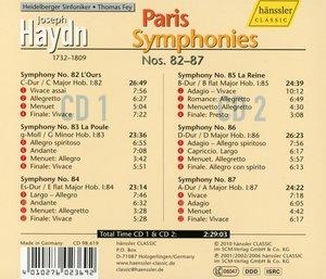 Pariser Sinfonien 82-87