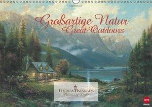 Kinkade, T: Thomas Kinkade: Großartige Natur (Wandkalender 2