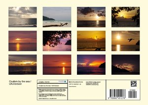 Coulors by the sea / UK-Version (Poster Book DIN A4 Landscape)