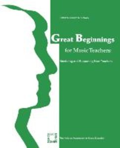 Great Beginnings for Music Teachers