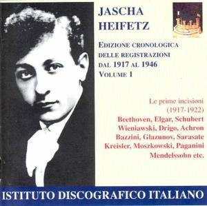 Chronolog.Edition der Aufnahme Vol.1: 1917-1922