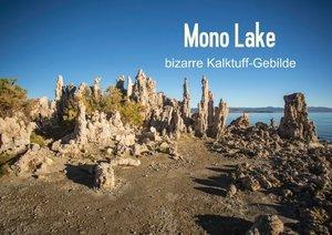 Mono Lake - bizarre Kalktuff-Gebilde (Posterbuch DIN A2 quer)