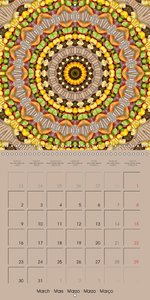 Tomato Kaleidoscope (Wall Calendar 2015 300 × 300 mm Square)