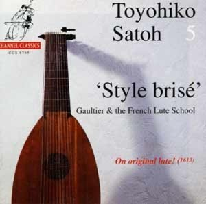 Style bris?.Gaultier &the French Lute (Satoh Vol.5