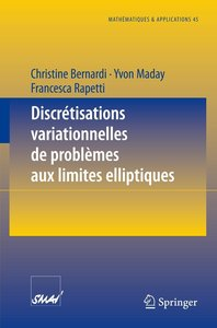 Discrétisations variationnelles de problèmes aux limites ellipti
