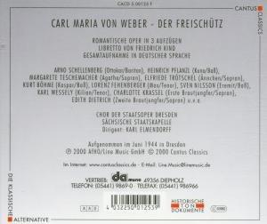 Der Freischütz (Ga,Deutsch)