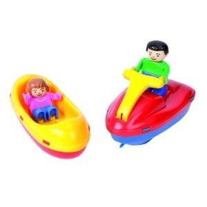 BIG 800055108 - Waterplay: Fun Boat Set - zum Schließen ins Bild klicken