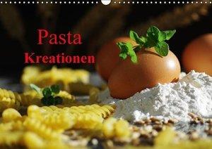 Pasta Kreationen (Wandkalender 2016 DIN A3 quer)