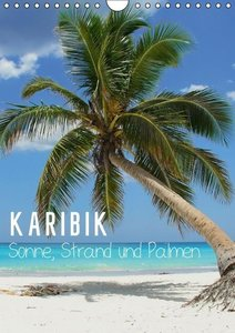 M. Polok: Karibik - Sonne, Strand und Palmen (Wandkalender 2