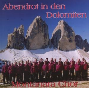 Abendrot in den Dolomiten