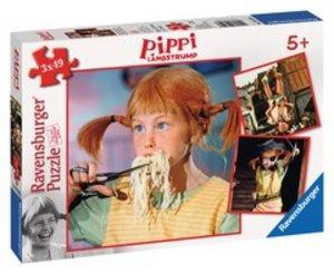 Ravensburger 09329 - Pippi Langstrumpfs Abenteuer, Puzzle, 3x49