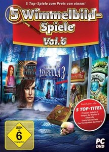 5 Wimmelbild-Spiele - Vol. 6. Für Windows Vista/7/8