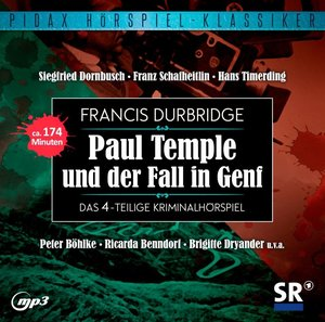 Francis Durbridge: Paul Temple und der Fall in Genf