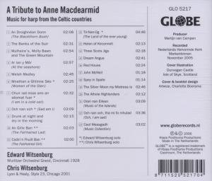 A Tribute to Anne Macdearmid-Music for Harp