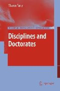 Disciplines and Doctorates
