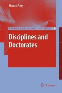 Disciplines and Doctorates