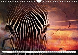 Emotionale Momente: African Dreams (Wandkalender 2016 DIN A4 que