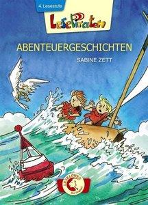 Lesepiraten Abenteuergeschichten. Großbuchstabenausgabe