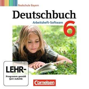 Deutschbuch 6. Jahrgangsstufe. Übungs-CD-ROM zum Arbeitsheft. Re
