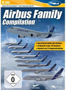 Flight Simulator 2004/FSX - Airbus Family Compilation