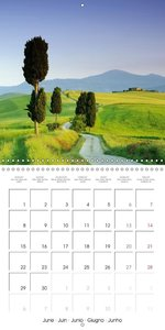 Magic of Tuscany (Wall Calendar 2015 300 × 300 mm Square)
