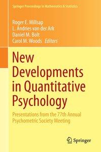 New Developments in Quantitative Psychology