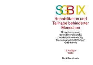 Sozialgesetzbuch (SGB) IX. Rehabilitation und Teilhabe behindert