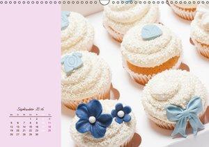 Cupcakes - lecker garniert (Wandkalender 2016 DIN A3 quer)