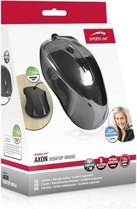Speedlink AXON Desktop Mouse - USB, grau