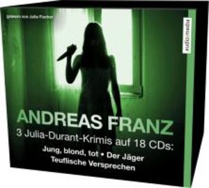 3 Julia-Durant-Krimis auf 18 CDs