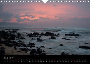 Hawaii / UK-Version (Wall Calendar 2015 DIN A4 Landscape)