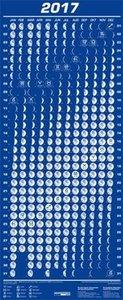 Mini-Mondphasenkalender 2017