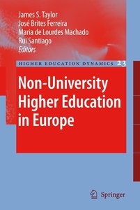 Non-University Higher Education in Europe