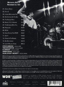 Steve Gibbons Band-Live at Rockpalast