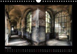 Lost Places - vergessene orte vergessener glanz (Wandkalender 20