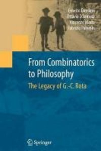 From Combinatorics to Philosophy