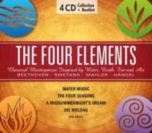 The Four Elements-Water,Earth,Fire & Air