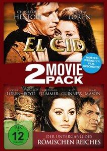 2 Movie Pack: El Cid + Der Untergang des römischen Reiches