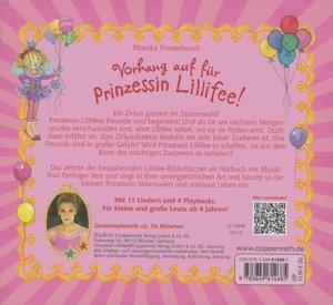 Vorhang auf für Prinzessin Lillifee! (CD)