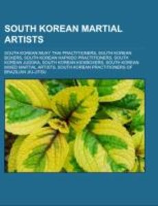 South Korean martial artists