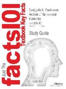 Studyguide for Fundamental Methods of Mathematical Economics by