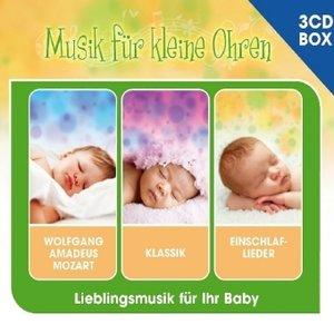 Musik für kleine Ohren - 3-CD Liederbox Vol. 1