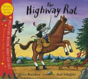 The Highway Rat. Book + CD