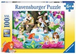 Ravensburger 10942 - Magische Feennacht, Puzzle, 100 Teile, XXL